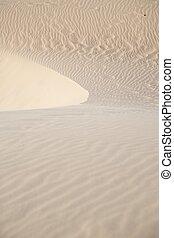 shapes on sand