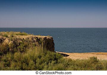 shardara, kazachstan, steppes, meer