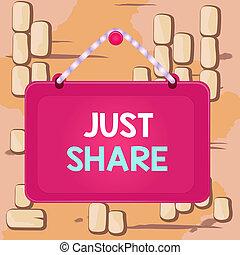 share., ビジネス, 持ちなさい, 板, panel., 執筆, 使用, しまのある, 長方形, 有色人種, 固定, テキスト, ただ, フレーム, 概念, 同じ, ∥あるいは∥, 単語, 誰か, 何か, ひも, 時間, else, 背景, 釘