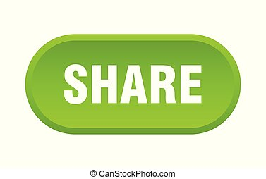share button. share rounded green sign. share