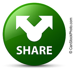 Share green round button