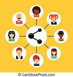 share icon design, vector illustration eps10 graphic