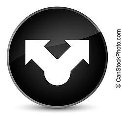 Share icon elegant black round button