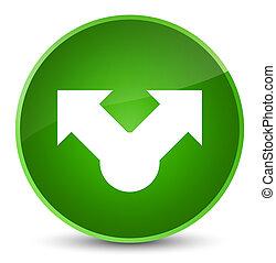 Share icon elegant green round button