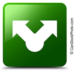 Share icon green square button