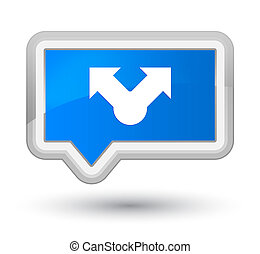 Share icon prime cyan blue banner button