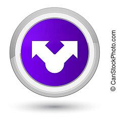 Share icon prime purple round button