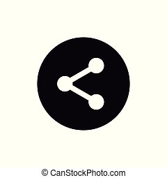 Share rounded icon
