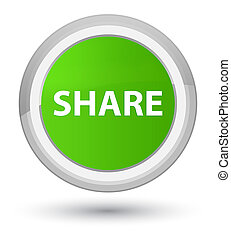 Share prime soft green round button