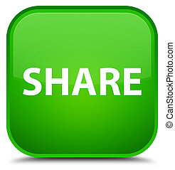 Share special green square button