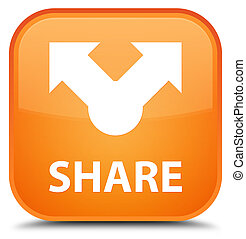 Share special orange square button