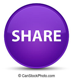 Share special purple round button