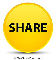 Share special yellow round button