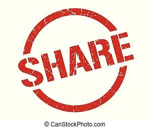 share stamp