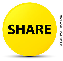 Share yellow round button
