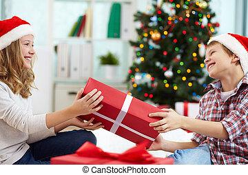 Sharing gift
