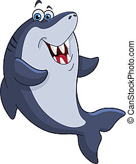 Shark - Cheerful shark