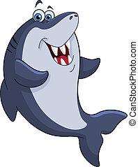 Shark - Cheerful shark