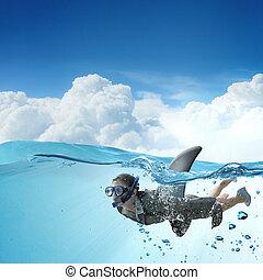 Shark of business world