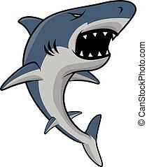 Shark Symbol Illustration