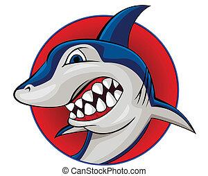 Shark - Vector illustration of shark eps 10