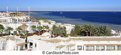 Sharm el-Sheikh aerial view