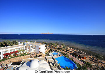 Sharm el-Sheikh aerial view