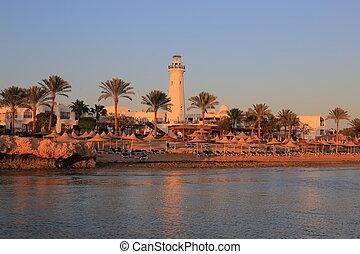 Sharm el-Sheikh at sunset
