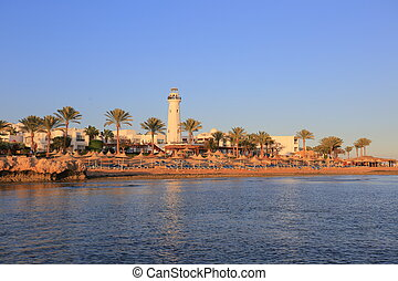 Sharm el-Sheikh at sunset