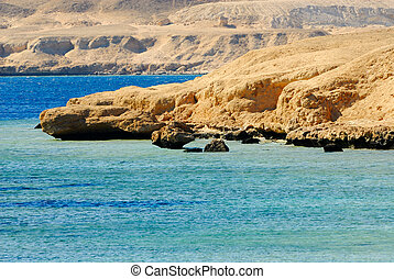 sharm el sheikh coast - dessert coast of sharm el sheikh