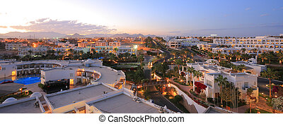 Sharm El Sheikh night - Night in Sharm el Sheikh resort