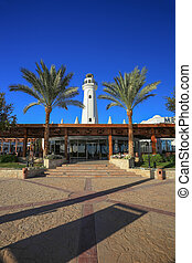 Sharm el Sheikh - Lighthouse in Sharm el Sheikh resort