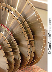 Many New Circular Saw Blades Spare Parts Industrial Tools