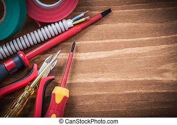 Sharp nippers insulated screwdriver corrugated pipe ...