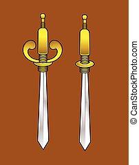 Sharp Swords Vector