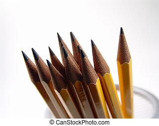 Sharpened Pencils - Photo of Sharpened Pencils