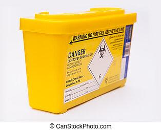 sharps, medisch afval, container
