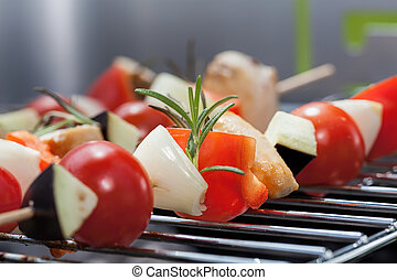 Shashlik closeup
