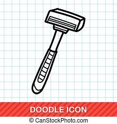 Shavers doodle