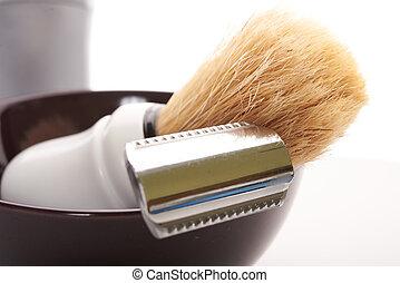 shaving tools isolate