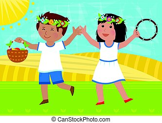 Shavuot Dance
