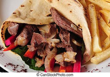 Shawarma - Lebanese cuisine
