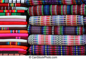 Shawls of different color