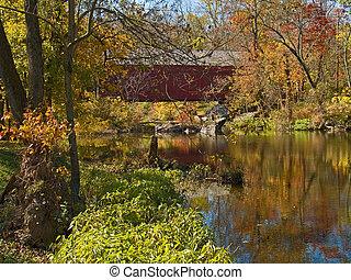 Sheards Mill Covered Bridge 3