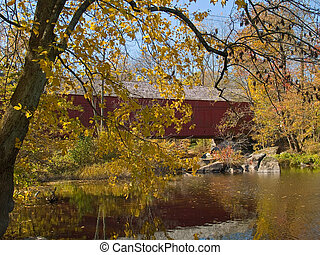 Sheards Mill Covered Bridge 4
