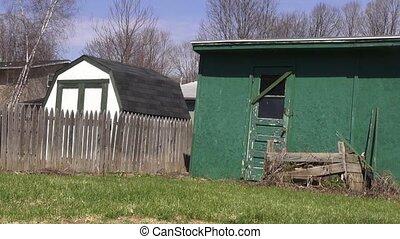 Sheds, Shacks, Storage, Barns