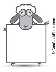 sheep, σημαία