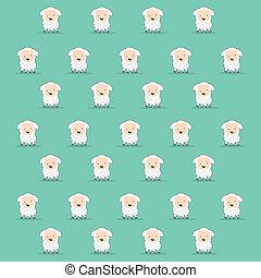 sheep, 卡通, 結構