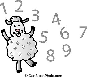 sheep, 计数