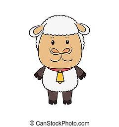 sheep animal cartoon